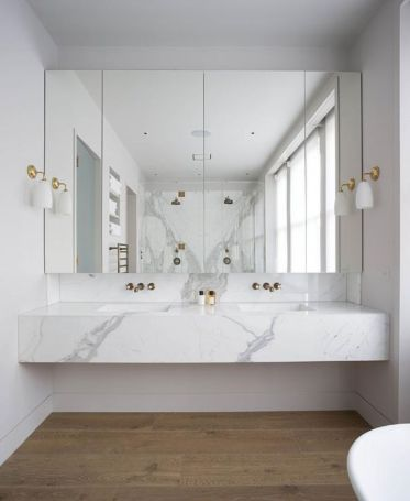 Modern bathroom remodel ideas you should try (51)
