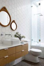 Modern bathroom with floating sink decor (17)