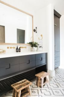 Modern bathroom with floating sink decor (44)