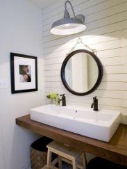 Modern bathroom with floating sink decor (50)