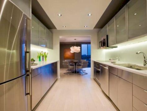 Modern condo kitchen designs ideas you will totally love 40