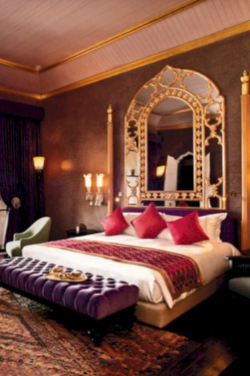 62 moroccan themed bedroom design ideas round decor for Interior of bedroom in indian style