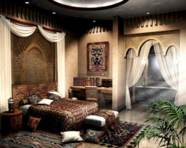 Moroccan themed bedroom design ideas 10