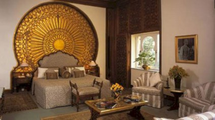 Moroccan themed bedroom design ideas 11