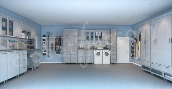 Neat and well-organized garage home decor ideas (1)