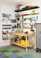 Neat and well-organized garage home decor ideas (13)