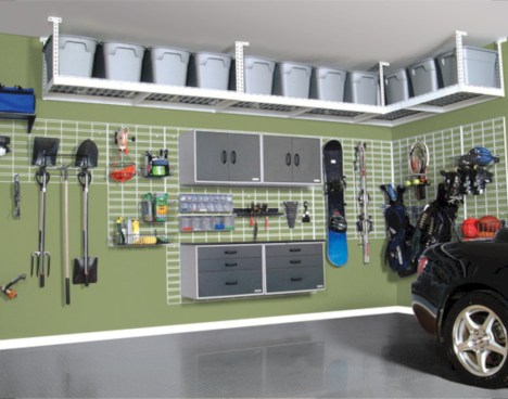Neat and well-organized garage home decor ideas (20)