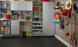 Neat and well-organized garage home decor ideas (21)