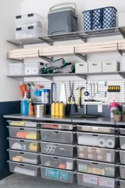 Neat and well-organized garage home decor ideas (31)