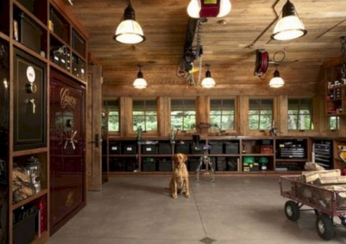 Neat and well-organized garage home decor ideas (32)