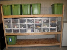 Neat and well-organized garage home decor ideas (47)