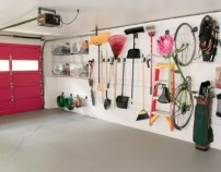 Neat and well-organized garage home decor ideas (5)