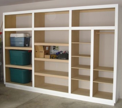 Neat and well-organized garage home decor ideas (52)