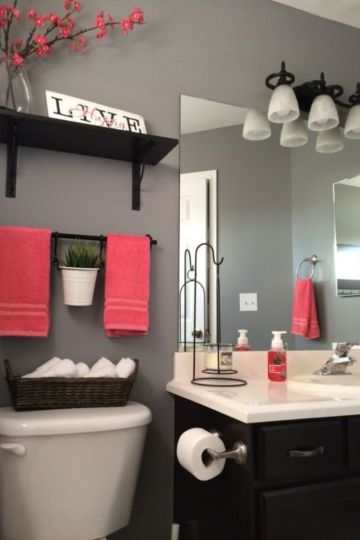 Paint color bathroom ideas for teens (51)