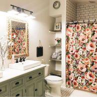 Paint colors farmhouse bathroom ideas (2)