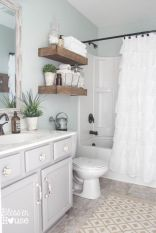 Paint colors farmhouse bathroom ideas (21)