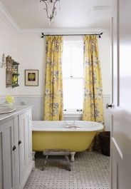 Paint colors farmhouse bathroom ideas (32)