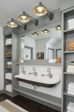 Paint colors farmhouse bathroom ideas (37)