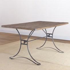 Rectangular folding outdoor dining tables design ideas 02