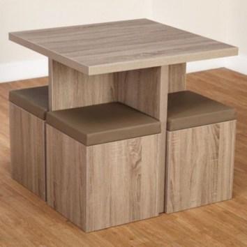 Rectangular folding outdoor dining tables design ideas 07