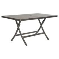 Rectangular folding outdoor dining tables design ideas 15