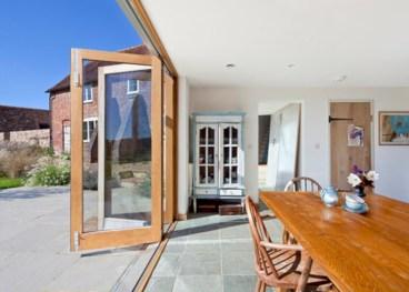 Rectangular folding outdoor dining tables design ideas 21