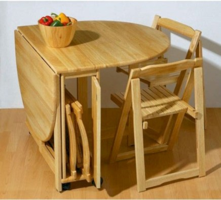 Rectangular folding outdoor dining tables design ideas 24