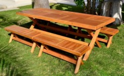 Rectangular folding outdoor dining tables design ideas 39