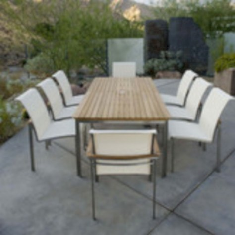 Rectangular folding outdoor dining tables design ideas 48