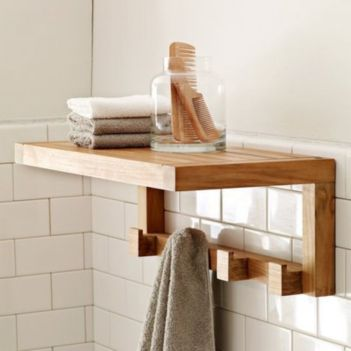 Rustic diy bathroom storage ideas (13)