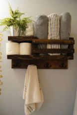 Rustic diy bathroom storage ideas (14)