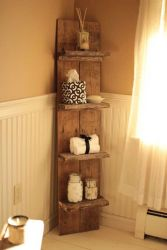 Rustic diy bathroom storage ideas (23)