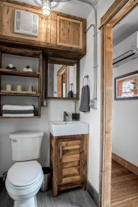 Rustic diy bathroom storage ideas (32)