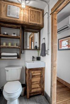 Rustic diy bathroom storage ideas (32)