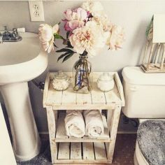 Rustic diy bathroom storage ideas (36)