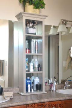 Rustic diy bathroom storage ideas (44)