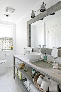 Rustic diy bathroom storage ideas (46)