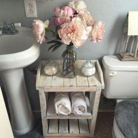 Rustic farmhouse bathroom ideas you will love (32)