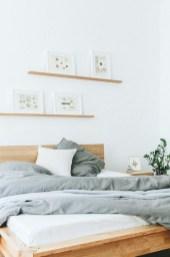 Scandinavian bedroom ideas for small apartment 14