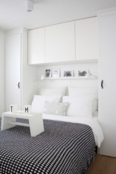 Scandinavian bedroom ideas for small apartment 27