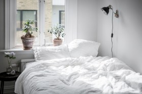 Scandinavian bedroom ideas for small apartment 32