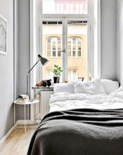 Scandinavian bedroom ideas for small apartment 43