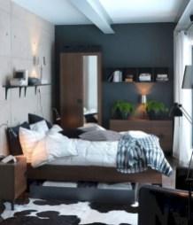 Scandinavian bedroom ideas for small apartment 46