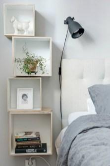 Scandinavian bedroom ideas for small apartment 49