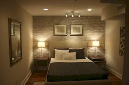 Scandinavian bedroom ideas for small apartment 54