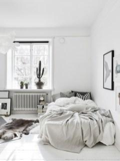 Scandinavian bedroom ideas for small apartment 55