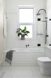 Simple bathroom ideas for small apartment 28