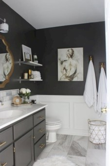 Simple bathroom ideas for small apartment 46