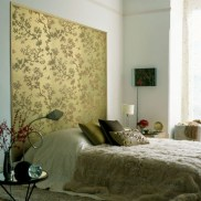 Simple bedroom design ideas with gold accents 09