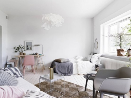 Simple decor that so perfect for rental apartment (11)